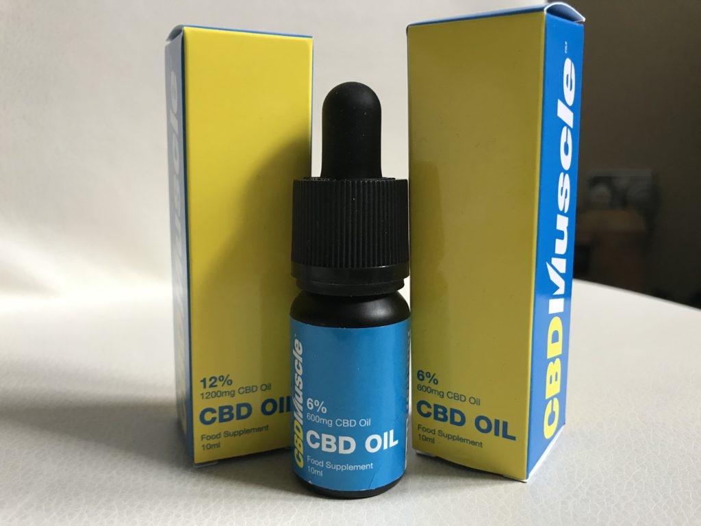 cbd muscle recovery oils