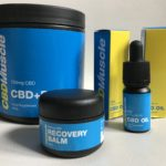 cbd muscle product range