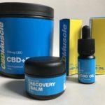 cbd muscle product range